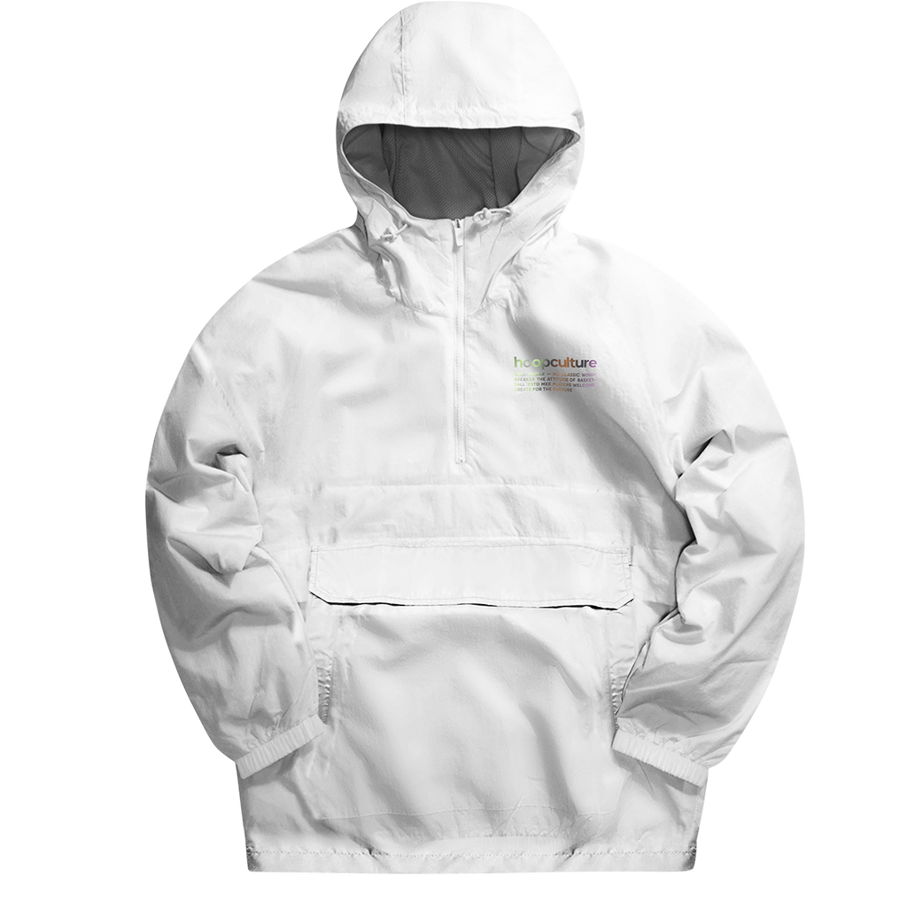 Classic Reflective Windbreaker Jacket - Hoop Culture