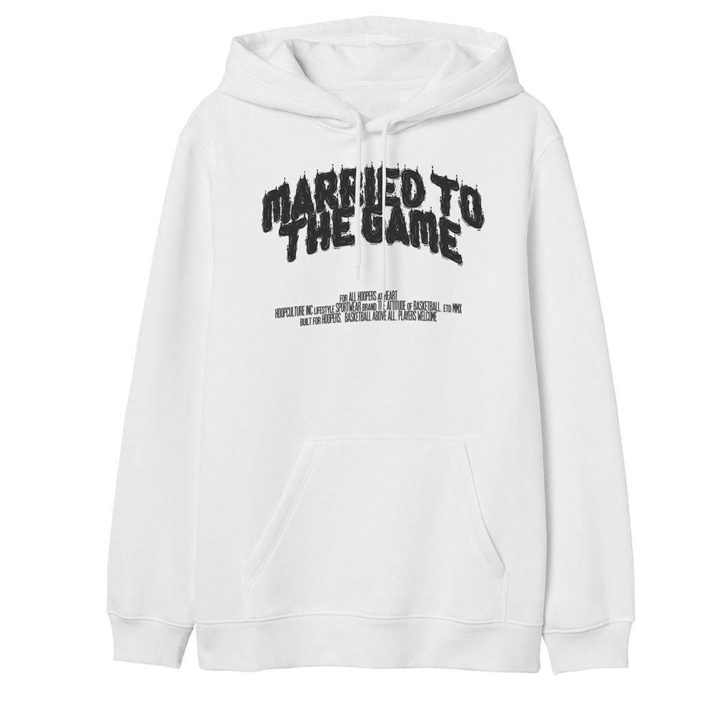 Married to the Game Hoodie - Hoop Culture