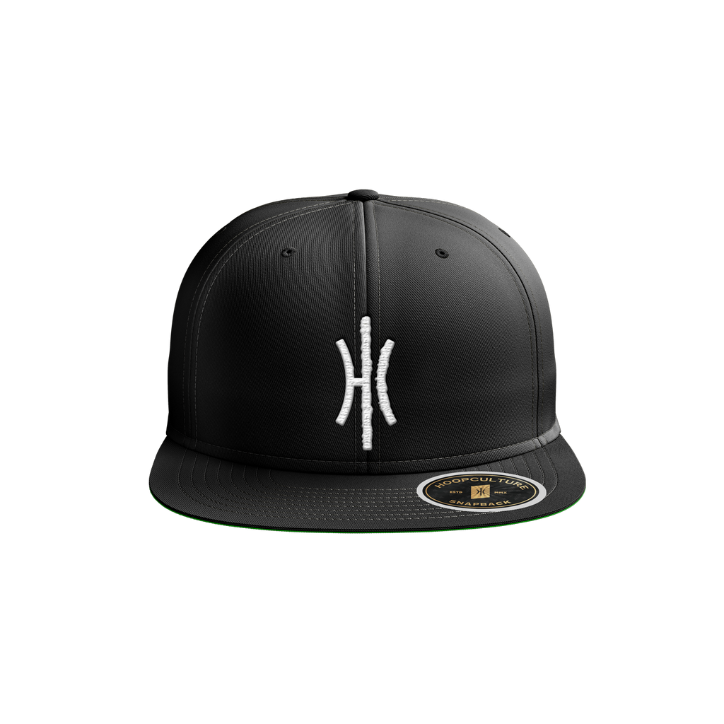 HC Insignia Flat Bill Snapback Headgear - Hoop Culture