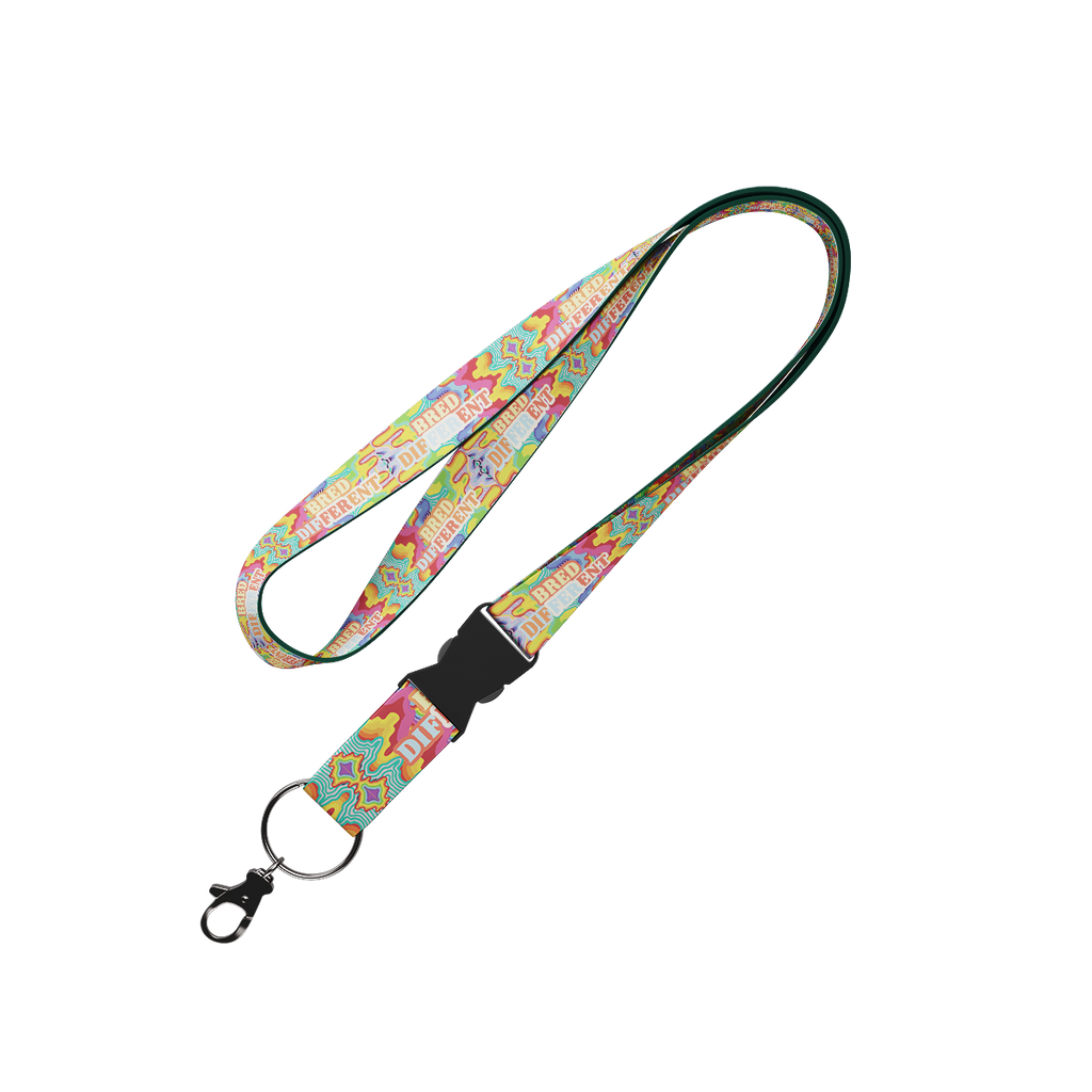 Bred Different Lanyard Lanyard - Hoop Culture