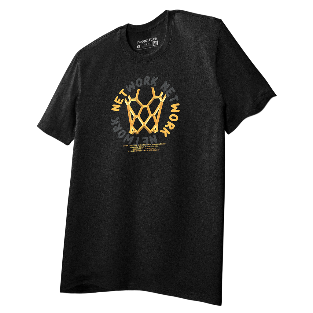 NetWork Gold UNLMDT T-Shirt T-Shirt - Hoop Culture