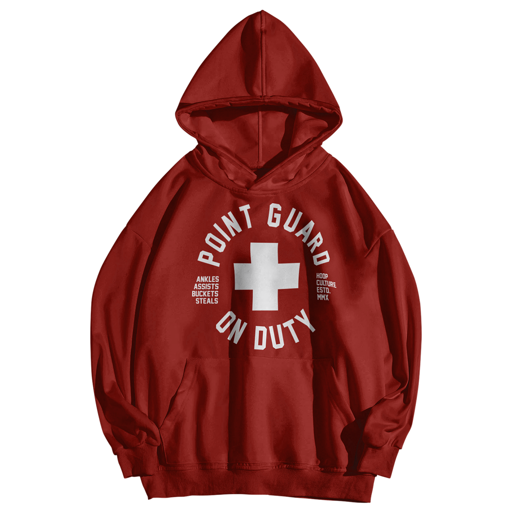 Point Guard On Duty Poly Hoodie Hoodie - Hoop Culture