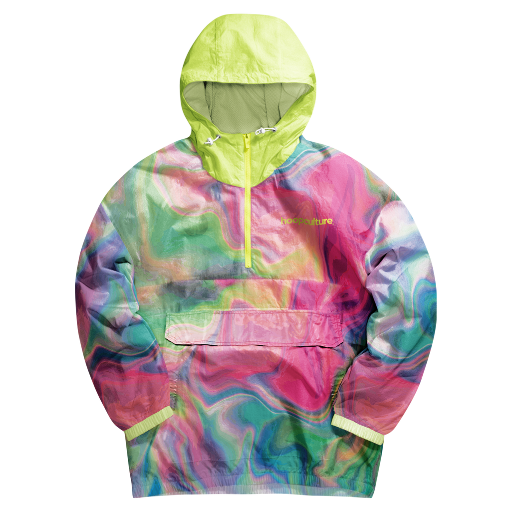 HoloGroove Classic Windbreaker Jacket - Hoop Culture