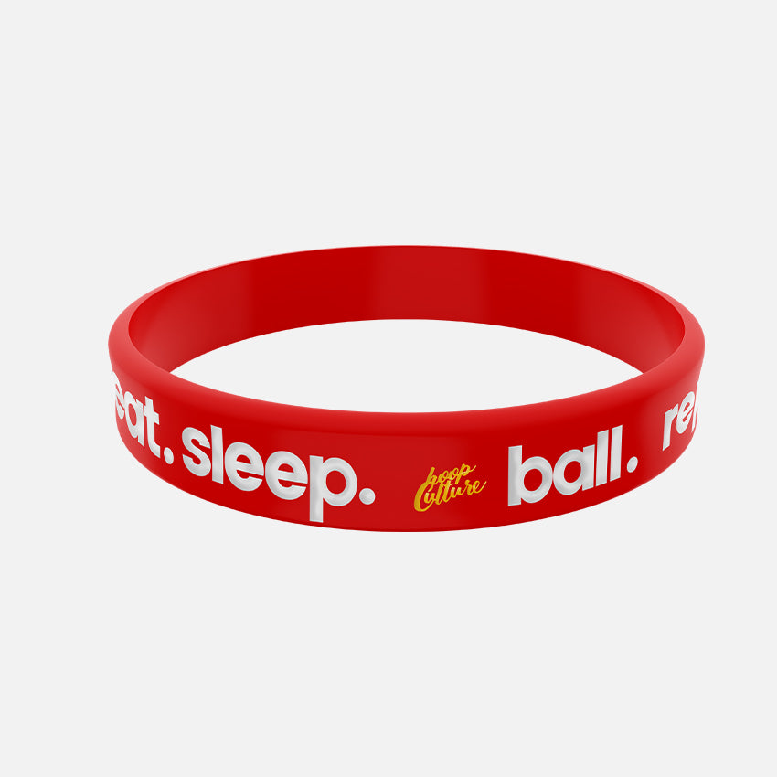 Eat Sleep Ball Repeat. Wristband Wristband - Hoop Culture