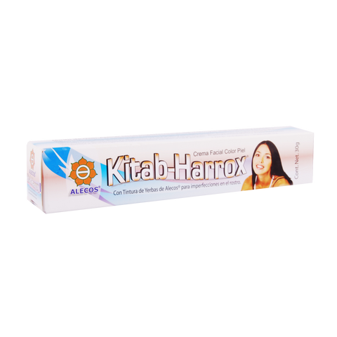 Kitab-Harrox, crema facial anti acné, frasco 80 g