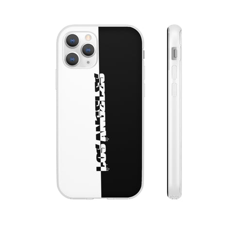 Los Angeles black and white Flexi Cases