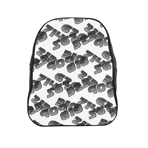 909 323 White School Backpack