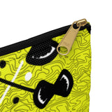 Yello African Print Accessory Pouch