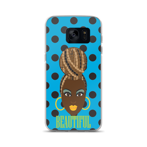 Beautiful Chocolate Dot Samsung Case