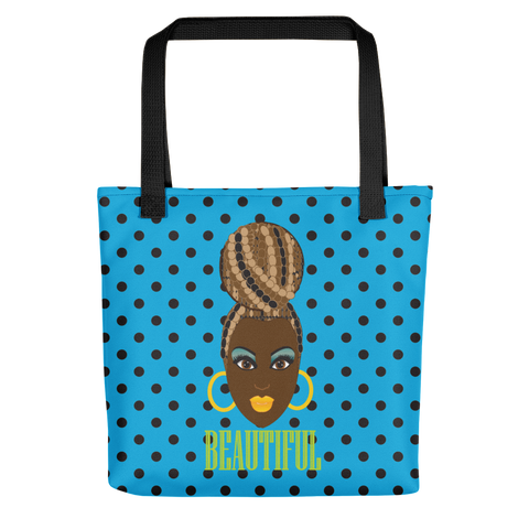 Beautiful Chocolate Dot Tote bag