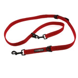 6 Way Multi-Function Dog Leash by Doggie Design - Red