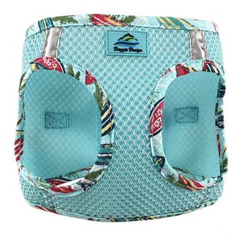 American River Choke Free Dog Harness Aruba Blue Hawaiian Trim - Clearance