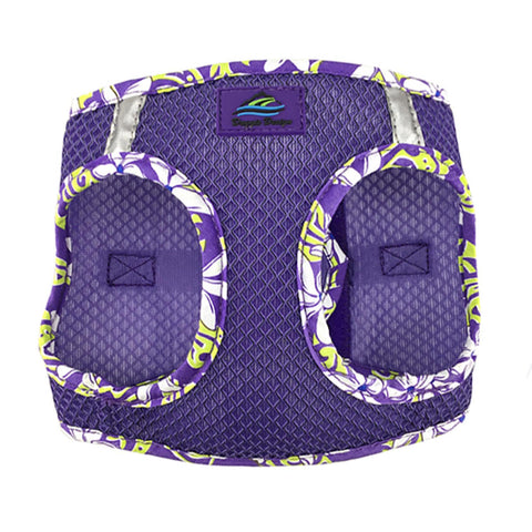 American River Choke Free Harness Hawaiian Trim - Paisley Purple