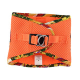 American River Choke Free Harness Hawaiian Trim - Sunset Orange