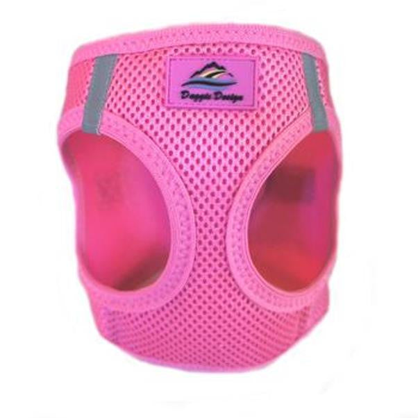 American River Ultra Choke-Free Mesh Dog Harness by Doggie Design - Candy Pink
