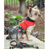 Gingerbread Fabric Harness with Matching Leash