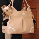 Madison Mia Michele Mocha Dog Carrier Bag