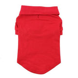 Solid Dog Polo - Flame Scarlet Red