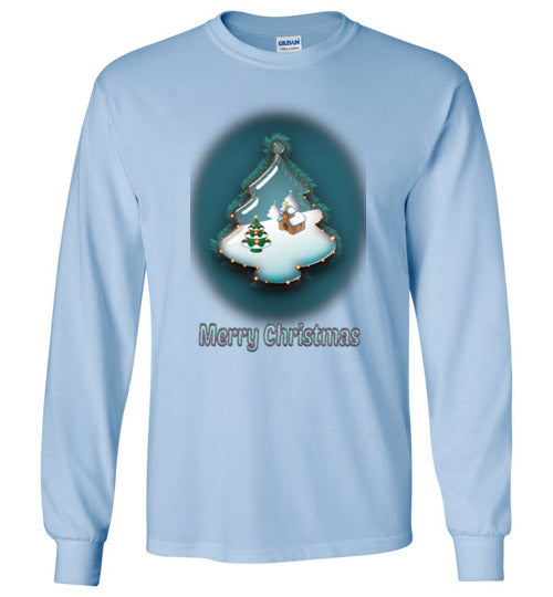 Christmas Tree Globe Long Sleeve T-Shirt