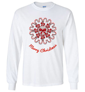 Candy Cane Christmas Long Sleeve