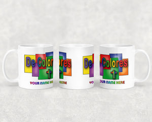 De Colores Stained Glass Mug