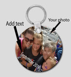 Key Chain - Your Photo and Text