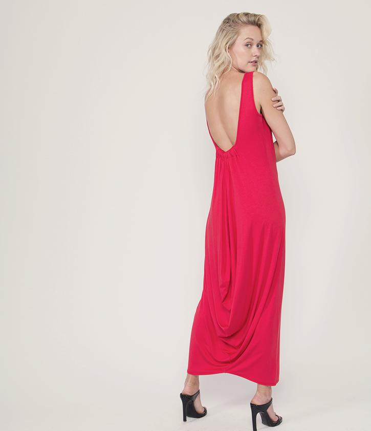 Cowl Back Maxi Dress | Poppy - Loveappella