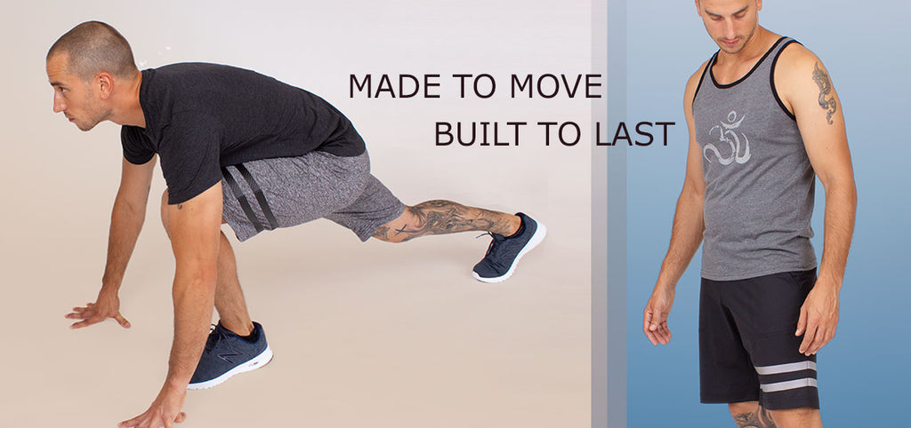 Premium Yoga and activewear for men
