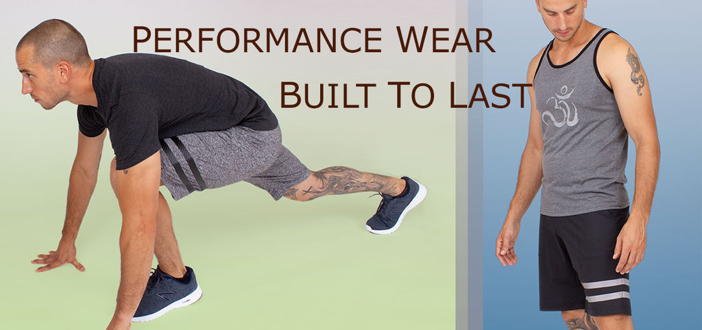 Workout and yoga clothing for men