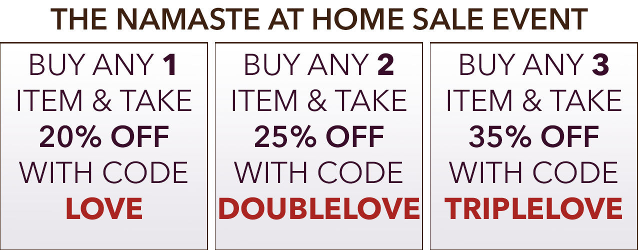 Namaste at Home Black Friday Sales Event