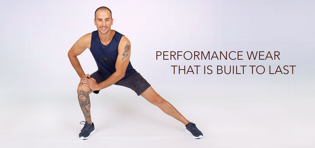 Awesome yoga and activewear for men that is made to perform and built to last.