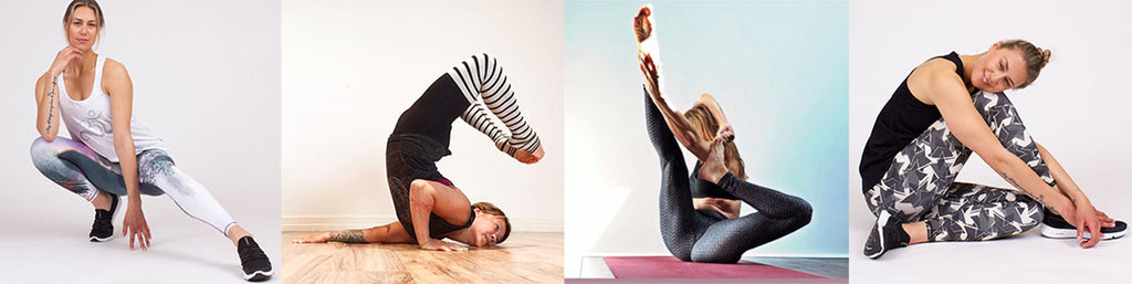 Eco-friendly clothing for living yoga