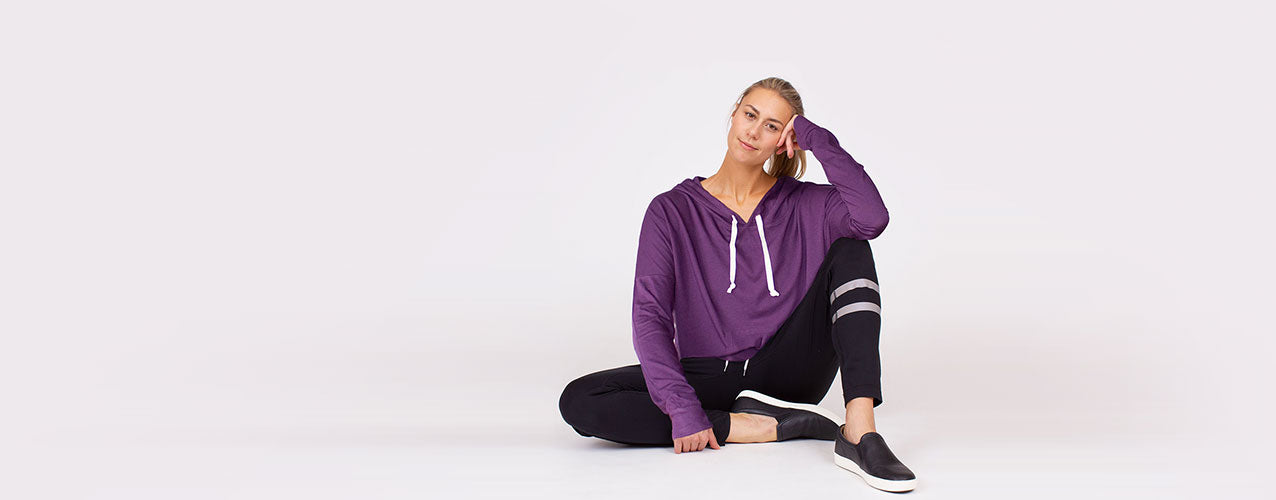 Explore exceptional yoga and activewear tops by Anjali