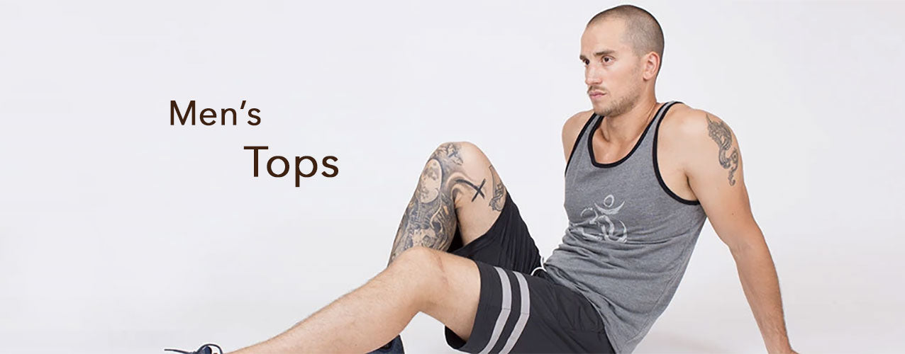 Premium Activewear Tops and Tees for Men