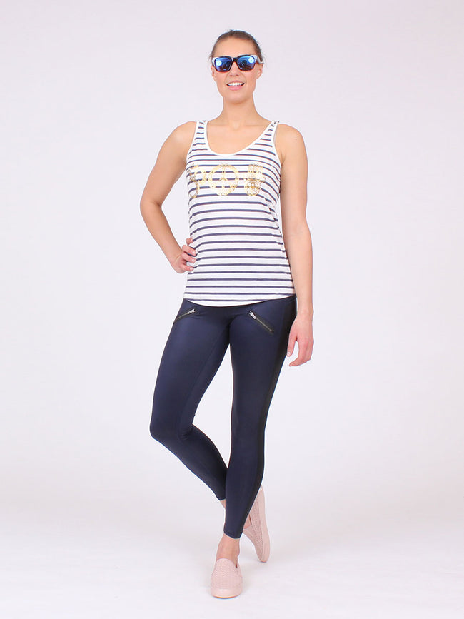 The Unity Stripe Tank