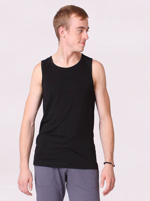 The Men's Practice Top in Black - FINAL SALE
