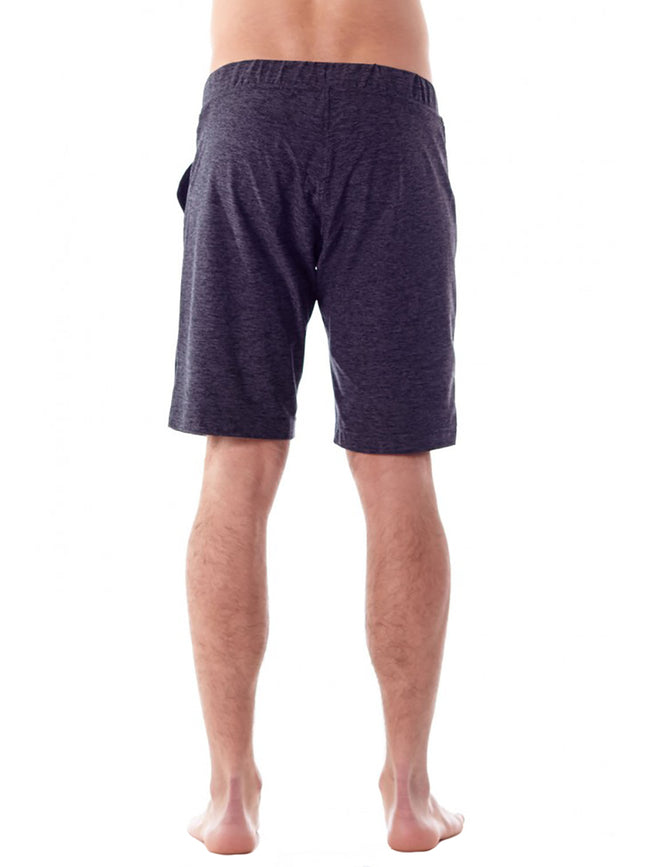 The Vida Yoga Short for Men in Charcoal Heather