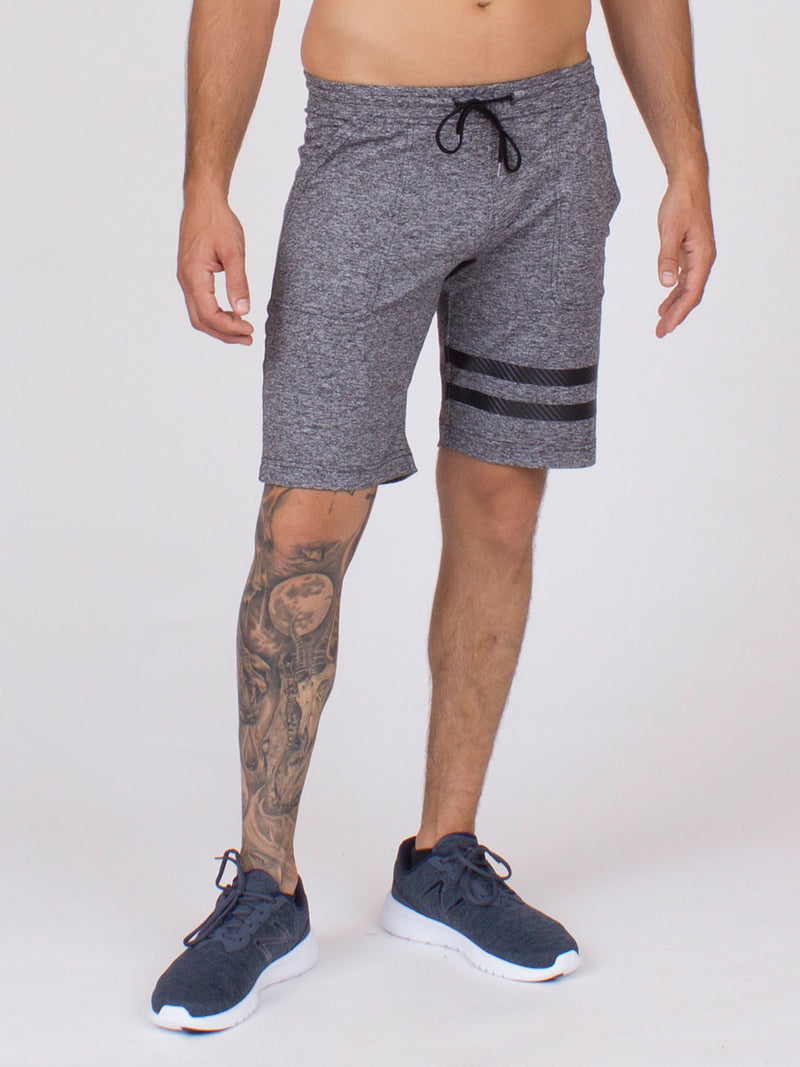 The Arlo Shorts in Silver Heather