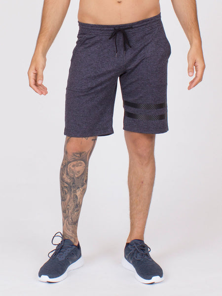 The Arlo Shorts in Steel Heather