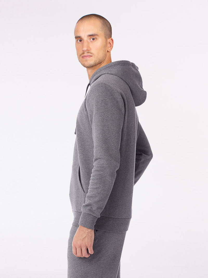 The Be here now hoodie in grey 5