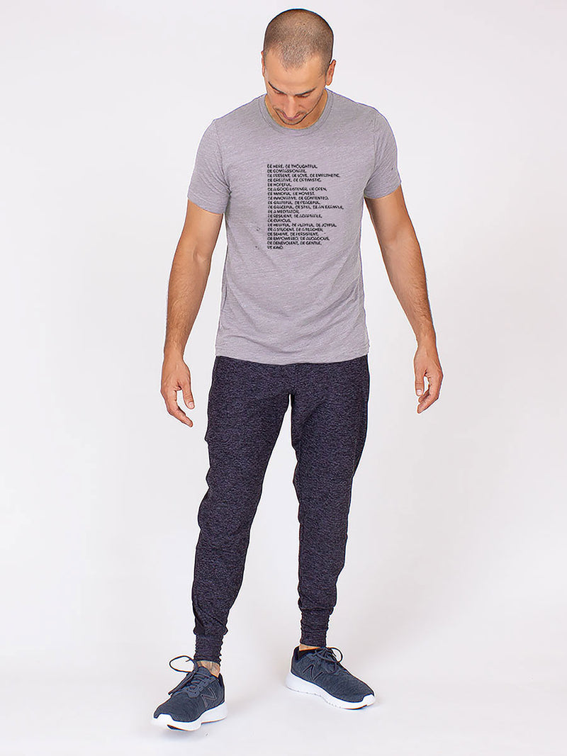 The Be Shirt in Grey