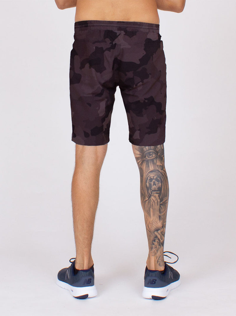 The City Short in Black Camo