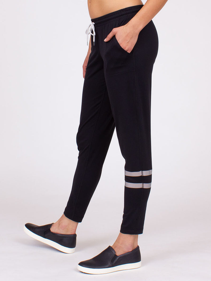 The Elevation Yoga Pant in Black