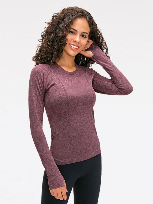 The Embrace Top in Grape 2