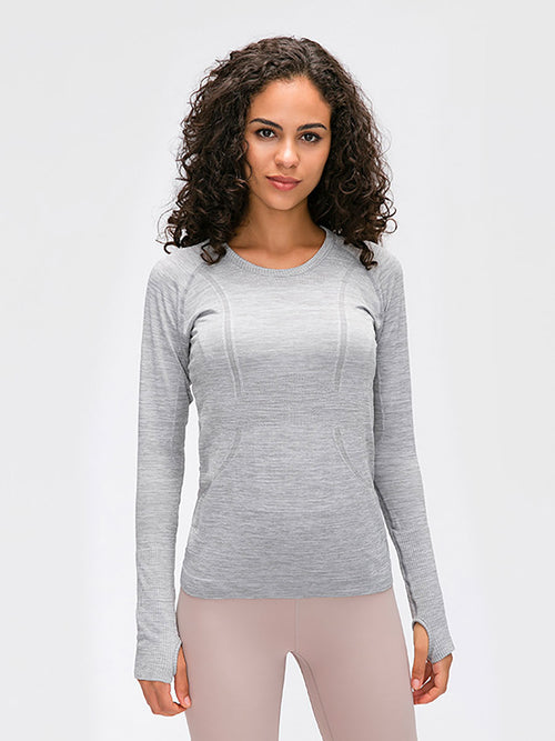 The Embrace running top in Marble 1