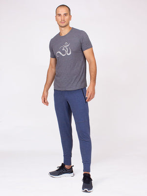The Everyday Pant for Men in Lake Heather French Terrie
