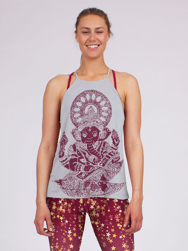 The Ganesh Halter in Grey