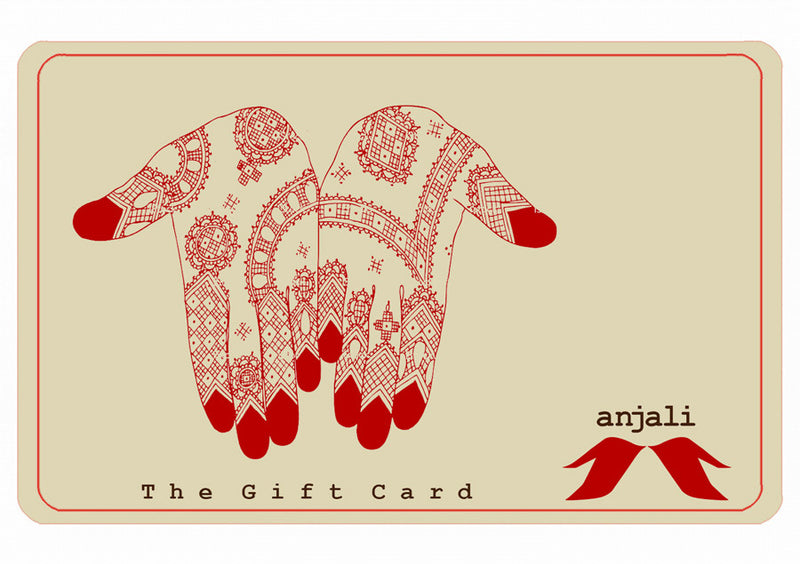 The Anjali Gift Card