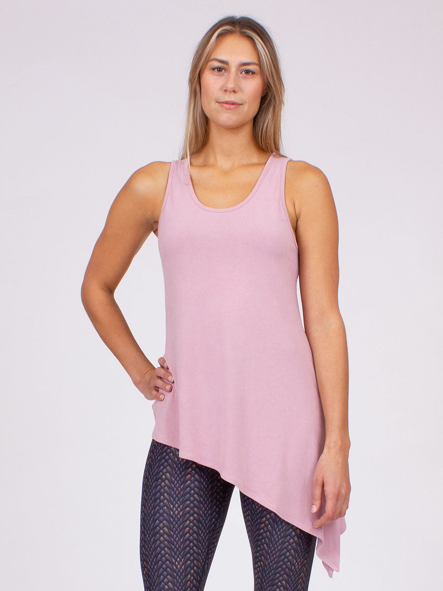 The Grace Tank in Blush