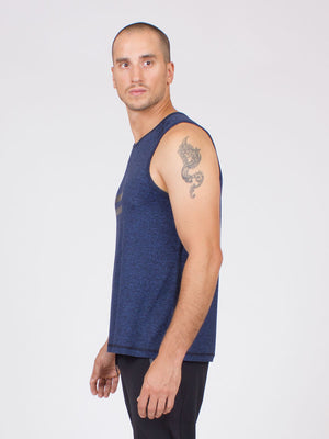The Liberation Top for Men in Midnight